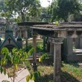 Potret komplek Pemakaman Sukun Nasrani yang akan ditetapkan sebagai kawasan cagar budaya (Pipit Anggraeni/MalangTIMES).