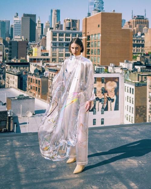 Penampakan baju digital 'Irisdescence'. (Foto: Istimewa)