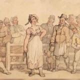 Ilustrasi penjualan istri di pasar (istimewa)