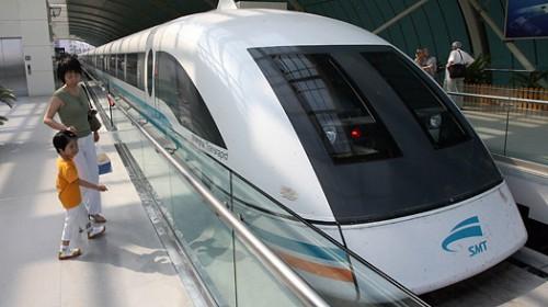 Kereta Shanghai Maglev di China. (Foto: istimewa)