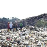 Ilustrasi tumpukan gunungan sampah di TPA Supit Urang Kota Malang (Arifina Cahyanti Firdausi/MalangTIMES)