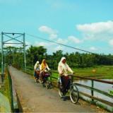 Jembatan Kanigoro, Sengguruh, sebelum di bangun (@malangtramway)