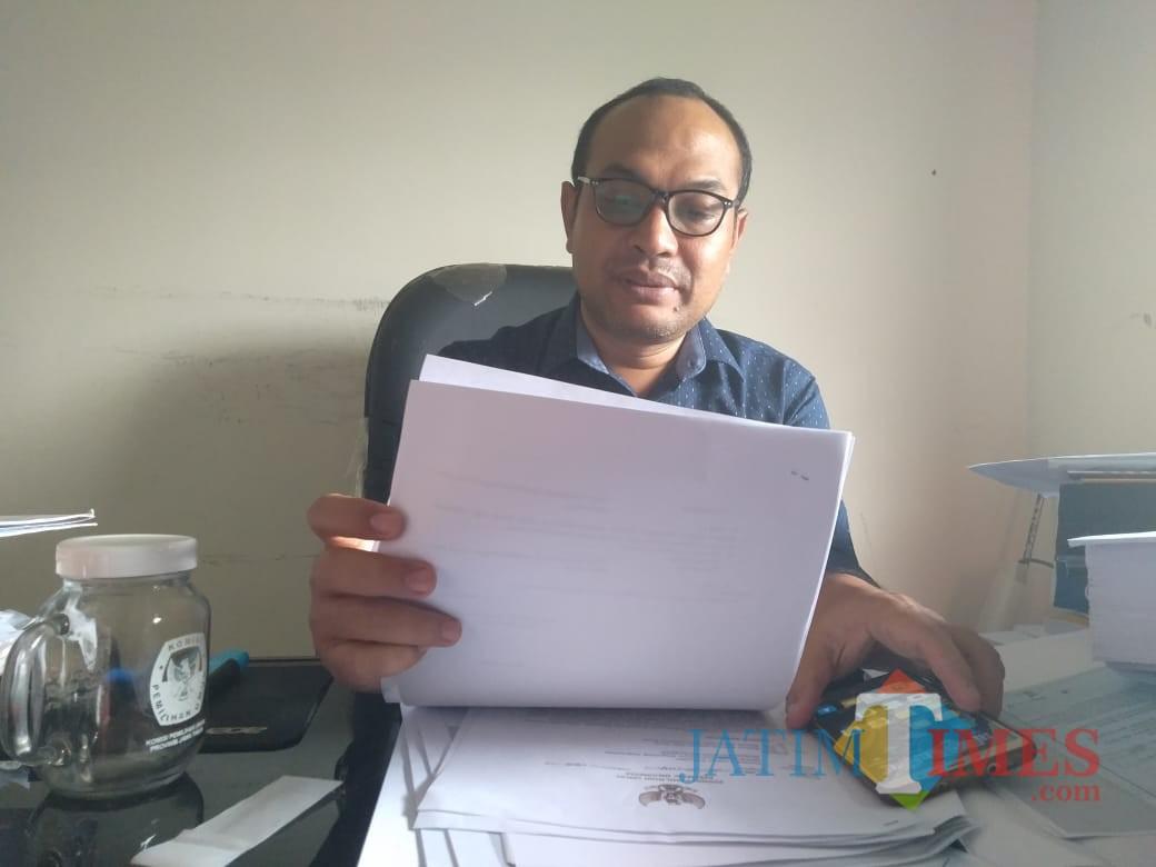 Ketua KPU Kota Blitar, Chairul Umam.(Foto : dok/BlitarTIMES)