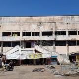 Hari ini Bupati Lumajang meninjau renovasi gedung bioskop Plaza (Foto : Moch. R. Abdul Fatah / Jatim TIMES)