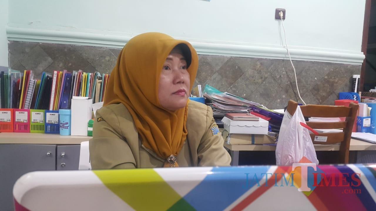 Ketua IBI (Ikatan Bidan Indonesia) Cabang Kota Probolinggo, Utami Putri,(Agus Salam/Jatim TIMES)