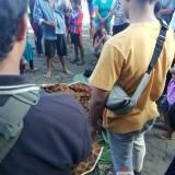 Kondisi jenazah Bagus Santoso sebelum di evakuasi ke Rumah Sakit / Foto : Dokpol / Tulungagung TIMES
