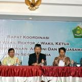 Rapat Koordinasi Forum Wakil Rektor/Wakil Ketua Bidang Kemahasiswaan, Alumni, Kerjasama PTKIN se-Indonesia. (Foto: Humas)