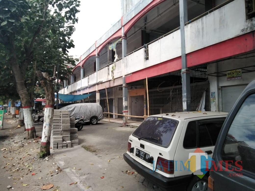 Salah satu sudut Pasar Legi  Kota Blitar.(Foto : Team BlitarTIMES)