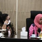 ASN saat menerima pengarahan dari Wali Kota Batu Dewanti Rumpoko di Balai Kota Among Tani, Selasa (25/6/2019).