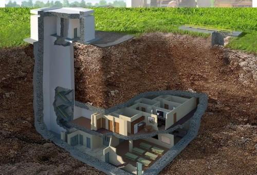 Bunker bawah tanah Australia (istimewa)