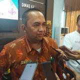 Kabid Pencegahan dan Pengendalian Penyakit Dinas Kesehatan Kota Kediri Alfan Julianto saat memberikan keterangan usai sosialisasi. (eko Arif s /JatimTimes)
