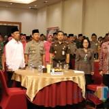 Kapolres AKBP Tofik Sukendar bersama unsur Forkompida dan seluruh elemen masyarakat dalam halal bihalal Kebangsaan / Foto : Dokpol / Tulungagung TIMES