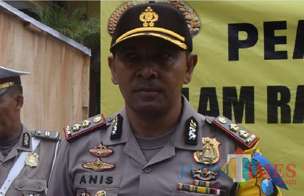 Kapolres Blitar AKBP Anisullah M. Ridha.