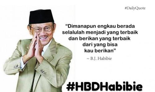 ulang tahun ke hbdhabibie trending topic twitter bojonegoro