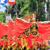 Salah satu peserta pawai Budaya dalam rangka Semipro (Seminggu di Kota Probolinggo) sebelumnya (Agus Salam/Jatim TIMES)