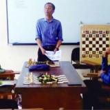 Tim catur UIN Malang berlatih untuk PIONIR 2019. (Foto: Humas)
