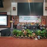 Wali Kota Malang Sutiaji saat memberikan sambutan dalam acara Bakesbangpol. (Hendra Saputra)