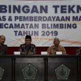 Bimningan teknis di Kecamatan Blimbing yang dihadiri Wali Kota Malang Sutiaji. (Humas Pemkot Malang for MalangTIMES).