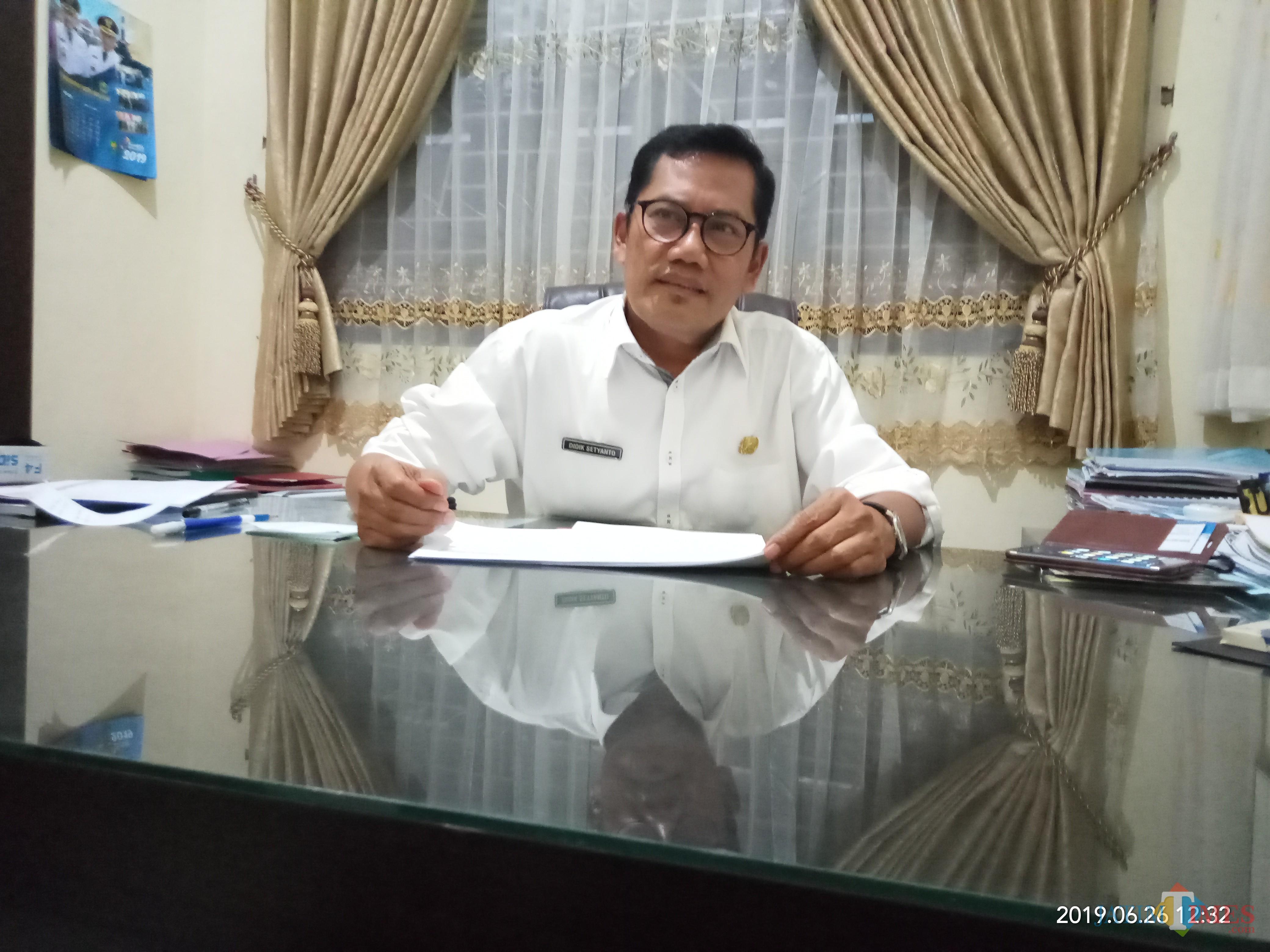 Kepala Bidang Bina Marga DPUPR Kota Malang, Didik Setyanto (Anggara Sudiongko/MalangTIMES)