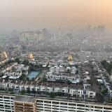 Perumahan mewah di atap gedung Thamrin City, Jakpus, yang lagi ramai di medsos (@shahrirbahar1)