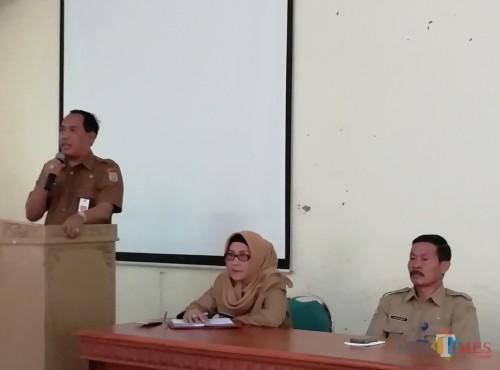 Kuatkan 4K plus KB, Kepala Dinas Pendidikan Kabupaten Malang M Hidayat, dorong para pendidik untuk terus membumikan di wilayahnya masing-masing (Nana)
