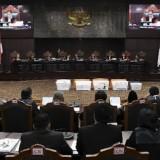 Pembacaan putusan MK terkait PHPU, Ketua Hakim Konstitusi meminta jangan jadi alat hujat dan fitnah (tagar.id)