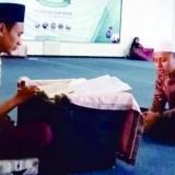 Persiapan salah satu hafiz UIN Malang untuk PIONIR 2019. (Foto: Humas)