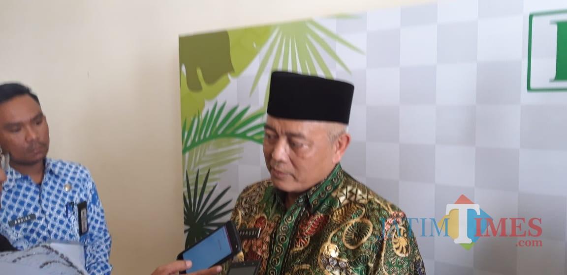 Plt Bupati Malang, Sanusi saat ditemui di Fakultas Kedokteran UB. (Foto: Imarotul Izzah/MalangTIMES)