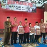 Plt Wali Kota  Blitar membuka acara khitanan masal