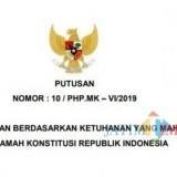 Tampilan draft dokumen salinan putusan MK di berbagai WAG