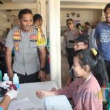 HUT Bhayangkara, Polres Blitar Gelar Bakti Kepolisian