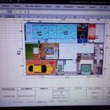 Jadi Viral, Seorang Ayah Desain Rumah Gunakan Ms Excel dan Power Point, Begini Hasilnya