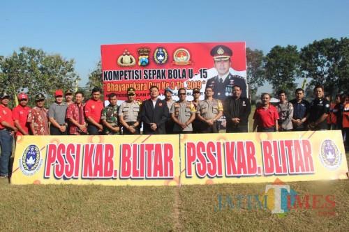 Pembukaan turnamen Bhayangkara Cup III Polres Blitar