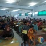 Antrean pendaftar dimasukkan dalam kelas  (Foto: Istimewa / TulungagungTIMES)
