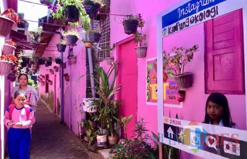 Salah satu spot di Kampung Ekologi di RW 06 Kelurahan Temas Kecamatan Batu. (Foto: Irsya Richa/MalangTIMES)