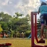 Taman Hutan Kota Bondas Batu Jadi Favorit, Sayangnya Berkali-Kali Alat Fitnes Kerap Rusak