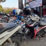 Salah satu lokasi parkir di Kota Malang. (Pipit Anggraeni/MalangTIMES)
