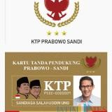 Viral, Jasa Pembuatan KTP Prabowo-Sandiaga Gegerkan Warganet