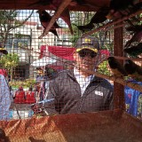 Kapolres Tulungagung AKBP Topik Sukendar (baju hitam)  bersama Dandim Tulungagung, Letkol Inf Wildan Bahtiar. (foto :  joko pramono/jatimtimes)