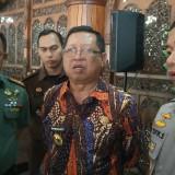 Plt Bupati Tulungagung, Maryoto Birowo (tengah baju batik) (foto : Joko Pramono/Tulungagungtimes)