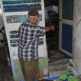 Atim Warga RT 3 RW 12 Kelurahan Mangunharjo, Kecamatan Mayangan, Kota Probolinggo ditemukan tewas di rumah tinggalnya (Agus Salam/Jatim TIMES)