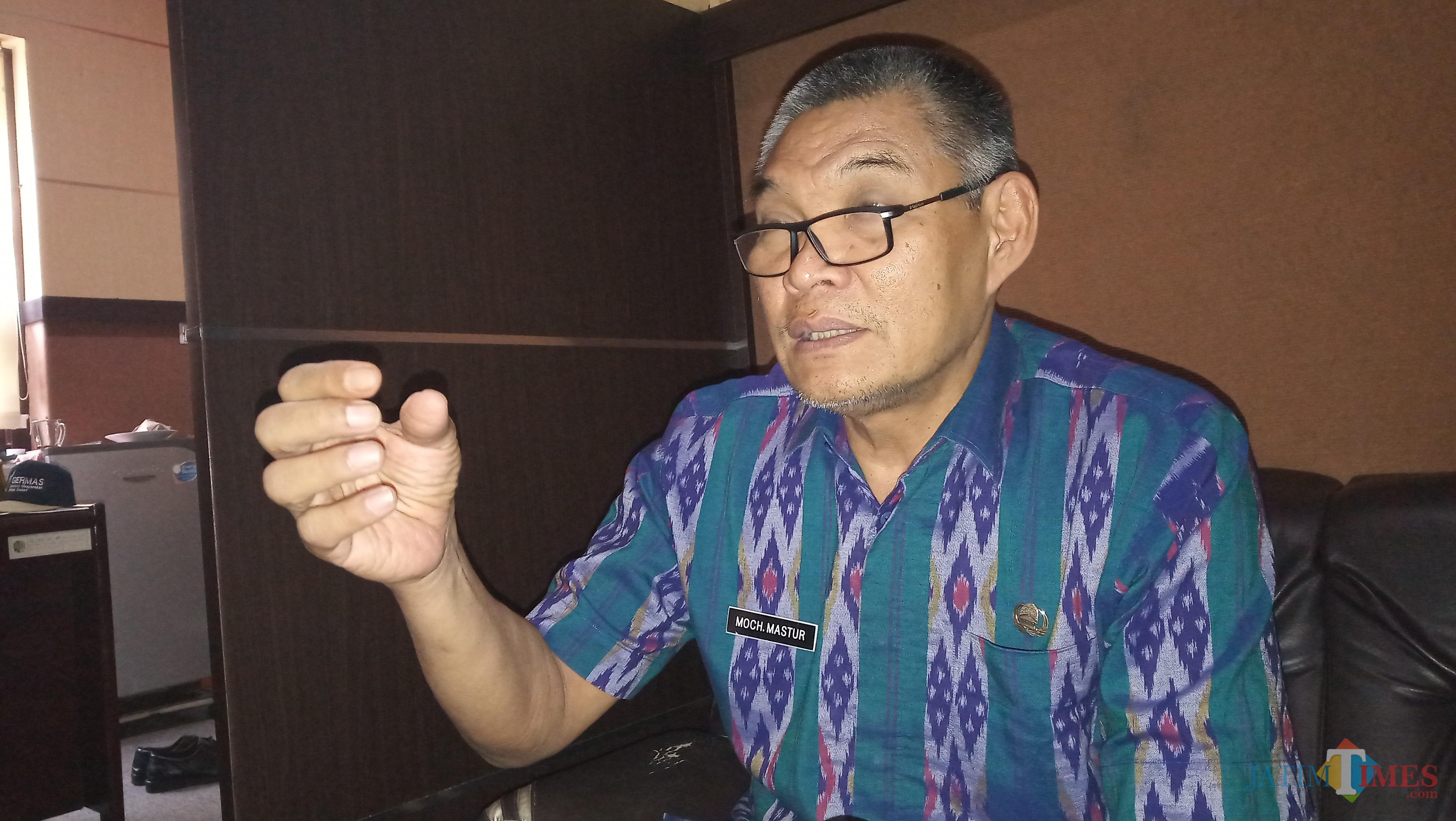 Kadinkes Tulungagung  Mochammad Mastur (foto : Joko Pramono/Jatim Times)