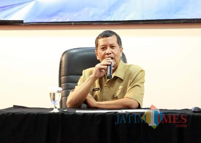 Kepala Bidang Ekonomi dan Sumber Daya Alam (Eko SDA) Barenlitbang Kota Malang Sudarso. (Foto: Dokumen MalangTIMES)
