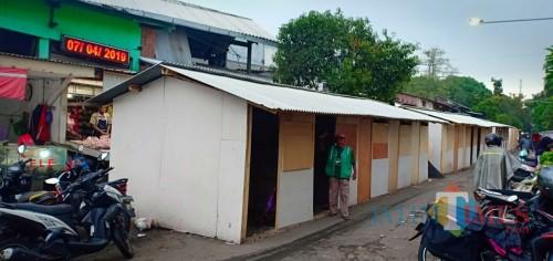 Lokasi relokasi para pedagang Pasar Mergan (Anggara Sudiongko/MalangTimes)