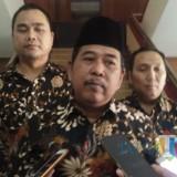 Kejari Kota Malang, Amran Lakoni (tengah) (Anggara Sudiongko/MalangTIMES)