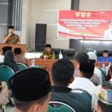 Beberapa peserta seleksi dan pembinaan kafilah MTQ di aula diklat Pemkab Jember. (foto : istimewa / Jatim TIMES)