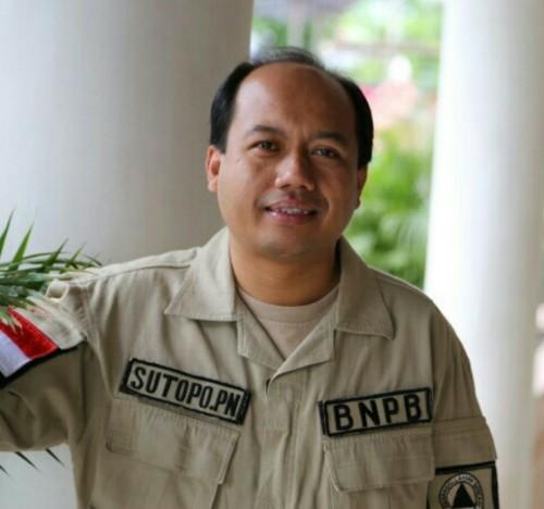 Sutopo Purwo Nugroho semasa hidup. (istimewa)