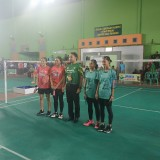 Hantam Kabupaten Nganjuk 3-0, Tim Beregu Putri PBSI Kota Malang Punya Kesempatan Lolos