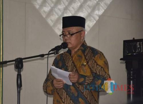 Plt Bupati Malang Sanusi meminta KUD terus berinovasi dan jangan hanya diam di tengah kompetisi yang semakin ketat saat ini (Humas Pemkab Malang for MalangTIMES)