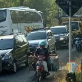Situasi jalur Klakah Probolinggo, yang diunggah warganet (Foto : Media sosial / Jatim TIMES)